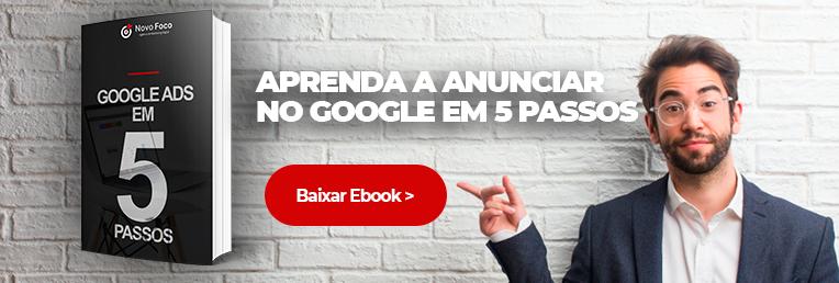 Ebook Conheça os Segredos do Google Ads em 5 passos
